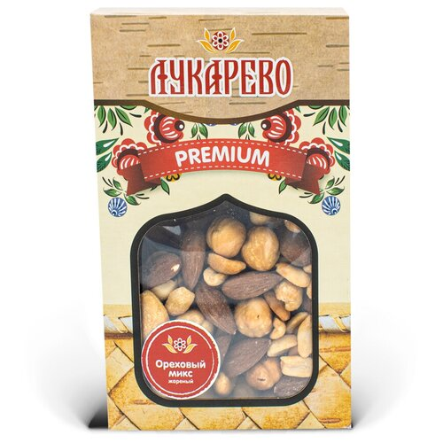 Фото - Ореховая смесь Лукарево жареная 200 г смесь фруктово ореховая botanica 140 г