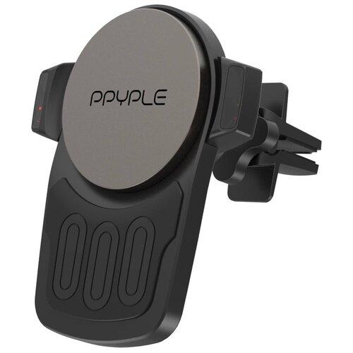 Магнитный держатель с беспроводной зарядкой Ppyple Airview XWM-100 черный