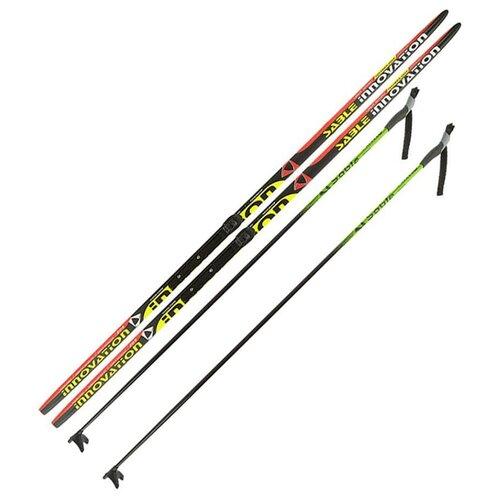 Лыжный комплект (лыжи + палки + крепления) NNN 170 Step-in, Sable Innovation