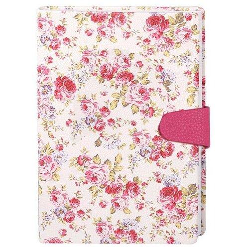 Купить Ежедневник InFolio Provence недатированный, искусственная кожа, А5, 160 листов, цветочный принт, Ежедневники