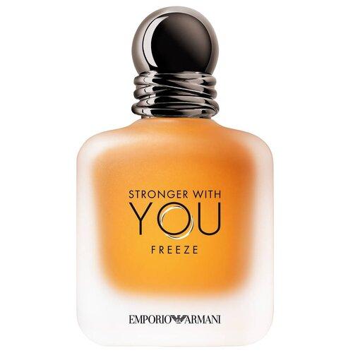Фото - Туалетная вода ARMANI Stronger with You Freeze, 50 мл парфюмерная вода giorgio armani stronger with you intensely 50 мл