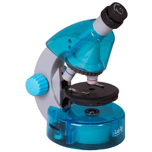 Фото - Микроскоп LEVENHUK LabZZ M101 azure микроскоп levenhuk labzz m101 orange