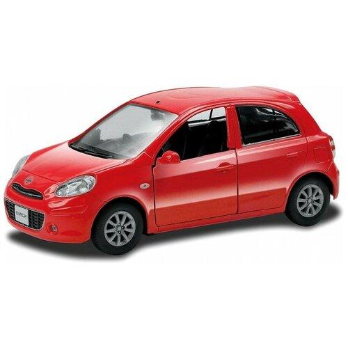 Машинка металлическая RMZ City Nissan March 1:32, инерционная (554011)