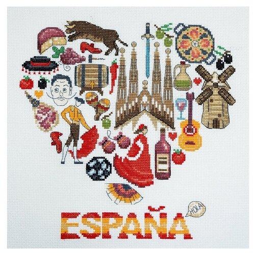 Набор для вышивания Испания 25 x 25 см МАРЬЯ ИСКУСНИЦА 11.001.24 набор для вышивания марья искусница 11 001 24 испания