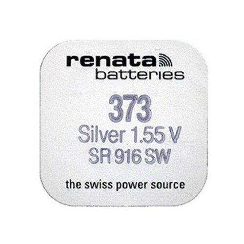 Фото - Батарейка R373 - Renata SR916SW (1 штука) батарейка cr1620 renata 1 штука