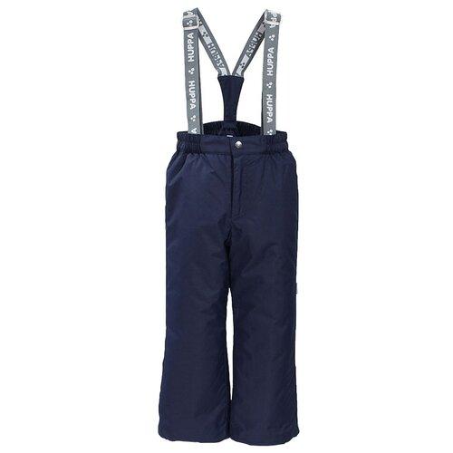 Купить Брюки FREJA 21700016-00086, Huppa, Размер 122, Цвет 00086-темно-синий, Полукомбинезоны и брюки