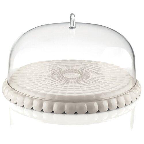 блюдо сервировочное со стеклянным куполом 35 5 см paddle Блюдо сервировочное tiffany 36 см молочно-белая