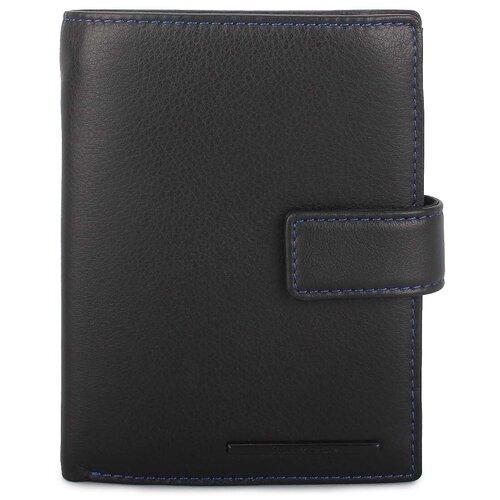 Мужское портмоне из натуральной кожи «Лучано» HB-207 Black