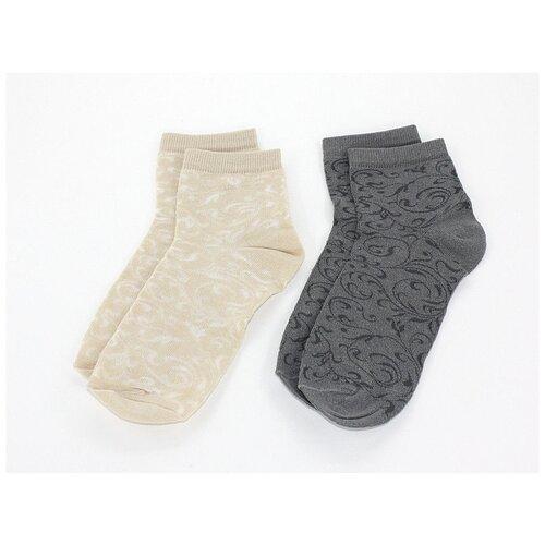 Носки женские Гамма С533, Тёмно-серый, 23-25 (размер обуви 36-40)