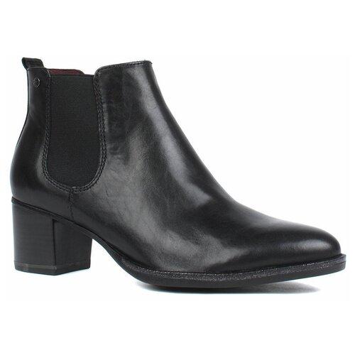 ботинки tamaris Ботинки челси Tamaris , размер 39 , черный