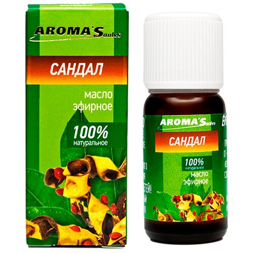 AROMA'Saules эфирное масло Сандал, 10 мл