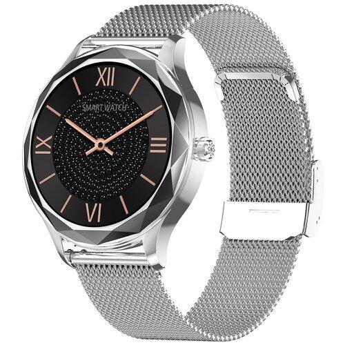Часы Smart Watch DT86 GARSline серебристые (ремешок серебристый металл)