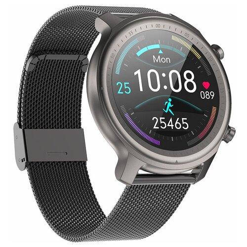 Часы Smart Watch Q1 GARSline черные (стальной ремешок)