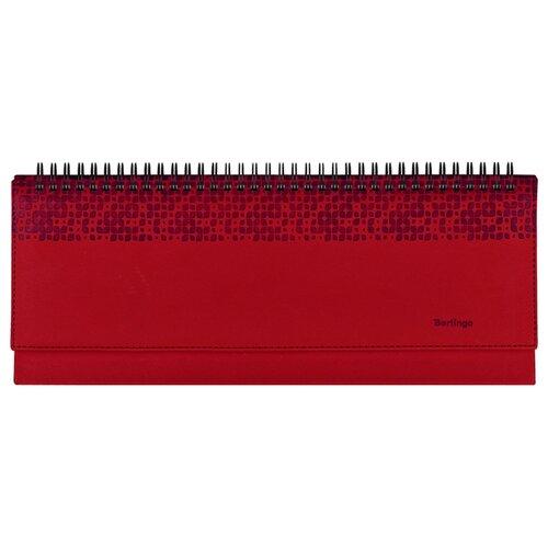 Фото - Планинг Berlingo Vivella Prestige недатированный, искусственная кожа, 64 листов, красный планинг berlingo vivella prestige датированный на 2022 год искусственная кожа 64 листов бежевый