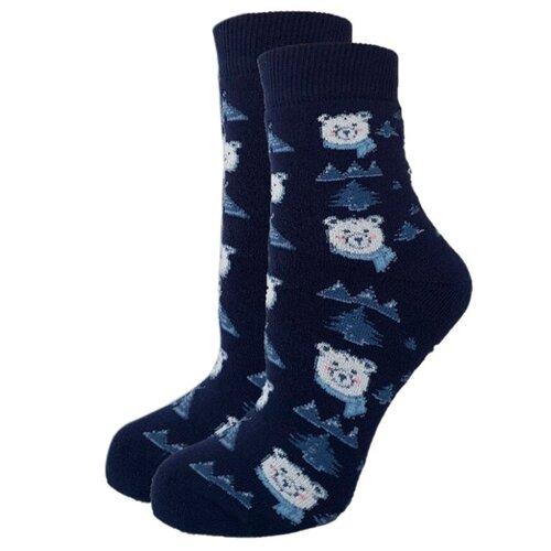 Носки женские Гамма С550, Тёмно-синий, 23-25 (размер обуви 36-40)