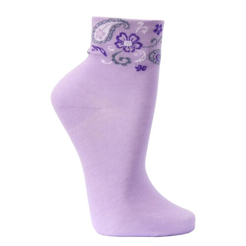 Носки женские Гамма С551, Сиреневый, 23-25 (размер обуви 36-40)