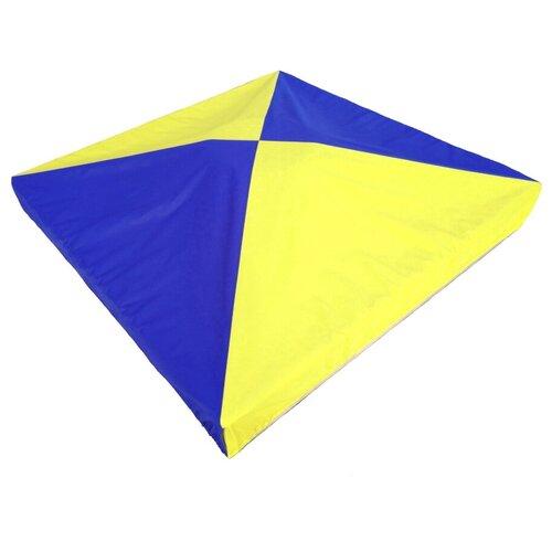Защитный чехол для песочницы, бриз ПК, 200*200*15 см, желто-синий