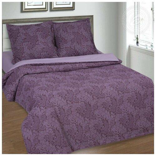 Постельное белье 2сп поплин Вирджиния фиолетовая