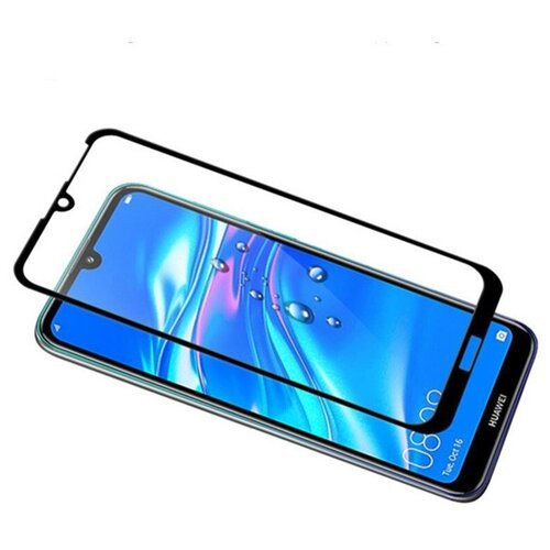 Защитное стекло Nuobi 0.3mm 9H для Huawei Y7/Y7 Pro/Y7 Prime 2019 (19D) (Черный)