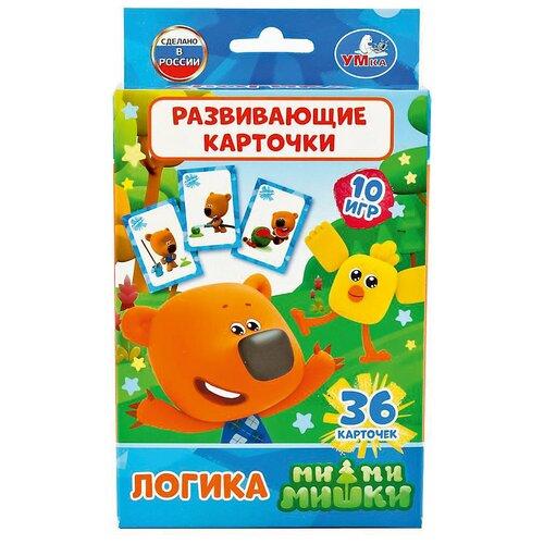 Фото - Набор карточек Умка Мимимишки. Логика 36 шт. набор карточек умка умные игры домашние животные 15 7x10 7 см 32 шт