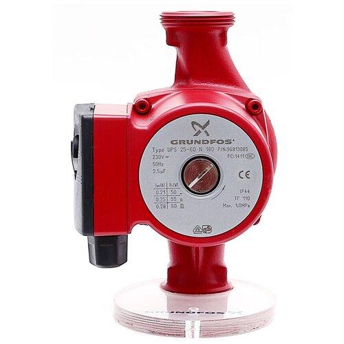 Циркуляционный насос Grundfos UPS 25 - 40 N 180 (60 Вт) циркуляционный насос grundfos ups 25 60 130 70 вт