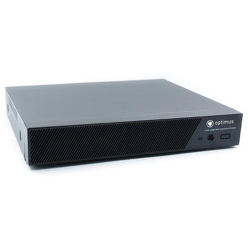 Фото - Цифровой гибридный видеорегистратор Optimus AHDR-2004HLE v 1 видеорегистратор гибридный optimus optimus ahdr 3004_h 265