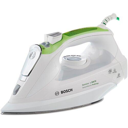 Утюг Bosch TDA 702421E белый/зеленый