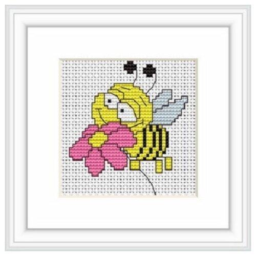 Купить Набор для вышивания «Пчелка», 6, 5x7, 5 см, Luca-S, Наборы для вышивания