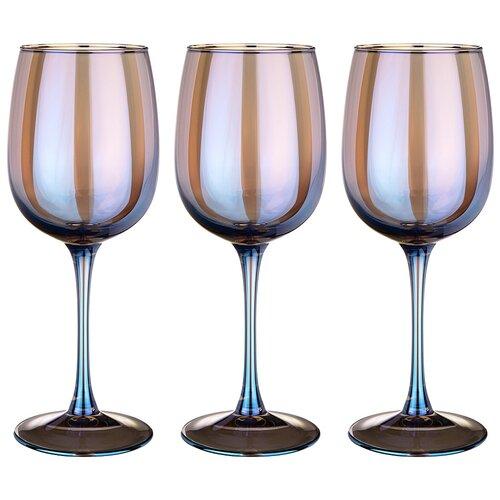 Набор бокалов из 3 шт лазурит 420 мл Lefard (194-523)