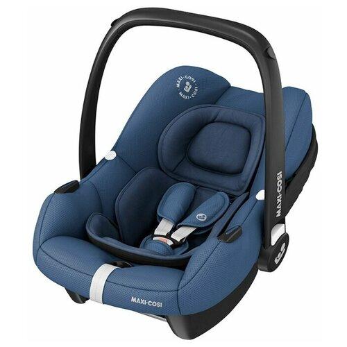 Автокресло группы 0+ (0–13кг) Maxi-Cosi Tinca Essential Blue автокресло maxi cosi tinca essential graphite темно серый