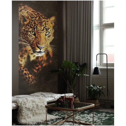 Фото - Фотообои / YOUWALL / Леопард/ 1 х 2,8 м (Ш х В) фотообои сказочный лес 3 х 2 8 м ш х в
