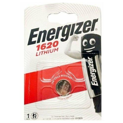 Фото - Батарейка ENERGIZER СR1620 5 шт батарейка energizer max plus aa 4 шт