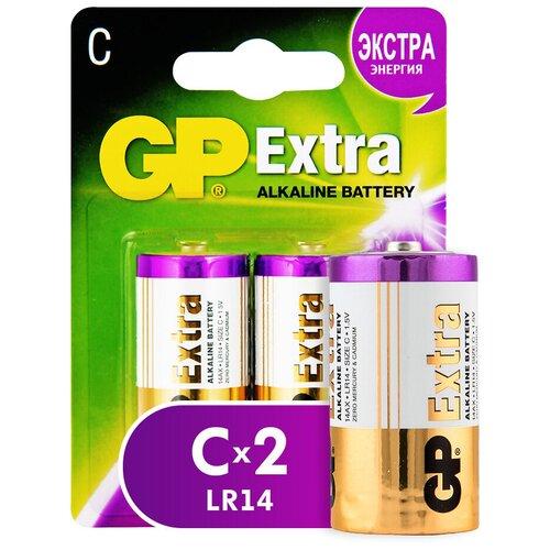 Фото - Батарейка GP Extra Alkaline C, 2 шт. gp