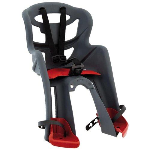 Купить Переднее велокресло Bellelli Tatoo HandleFix, dark grey, Велокресла