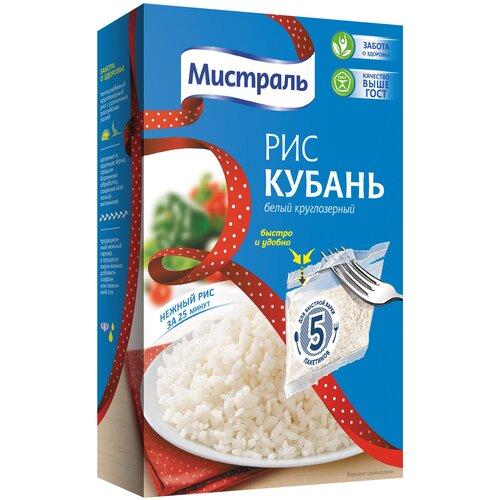Рис Мистраль Кубань белый круглозерный 400 г