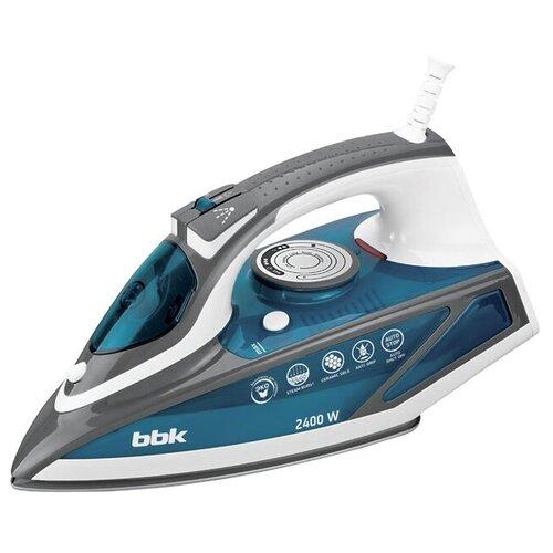 Фото - Утюг BBK ISE-2402 голубой/серый/белый утюг bbk ise 2401 зеленый белый