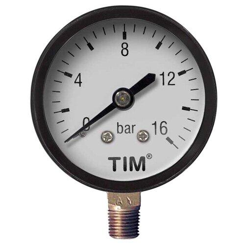 Аналоговый манометр Tim Y50-16bar