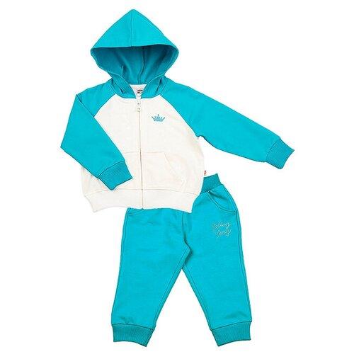 Спортивный костюм Mini Maxi размер 104, бирюза