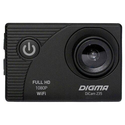 Фото - Экшн-камера DIGMA DiCam 235 черный экшн камера sony hdr as50r черный