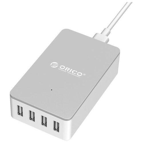 Фото - Сетевая зарядка ORICO CSE-4U, белый сетевая зарядка orico cse 4u черный