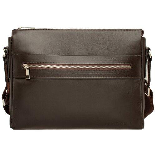 Фото - Сумка мужская через плечо Boswell Brown мужская кожаная коричневая сумка milano brown 9282 коричневая