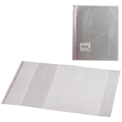 Топ-спин Набор обложек для учебника 232х400 мм, 5 штук бесцветный