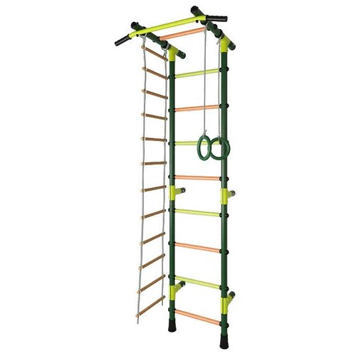 Купить Шведская стенка TMK PRO Маугли 03 М, зеленый, Игровые и спортивные комплексы и горки
