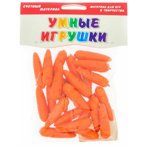 Купить Счетный материал АНДАНТЕ Морковочки 24 элементов, Обучающие материалы и авторские методики