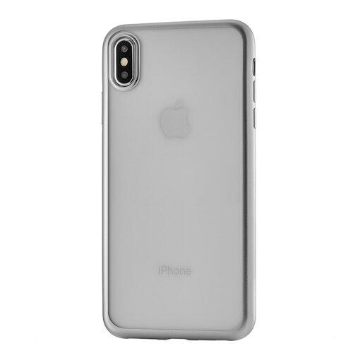 Фото - Чехол-накладка uBear Frame Tone Case для Apple iPhone Xs Max для Apple iPhone Xs Max silver чехол накладка ubear soft tone для apple iphone 6 iphone 6s прозрачный