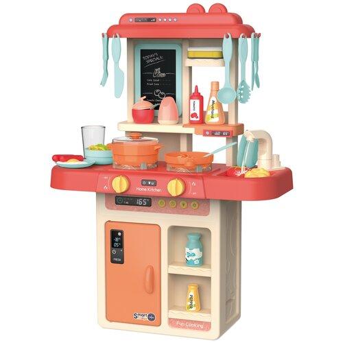 Купить Детская игровая Кухня PlaySmart с аксессуарами, со звуком и светом, Play Smart, Развивающие игрушки