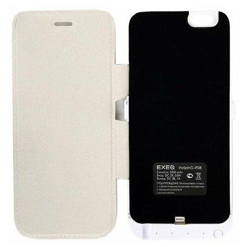Чехол-аккумулятор для iPhone 6 Exeq HelpinG-iF08 (белый)