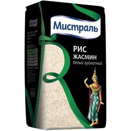 Рис Мистраль Жасмин белый ароматный 900 г