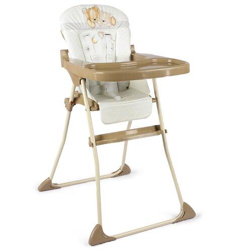 стул для кормления globex космик new белый Стул для кормления МИНИ коллекция Мишки - бежевый