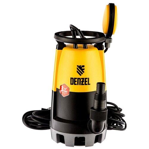 Дренажный насос Denzel DP900S (900 Вт) дренажный насос denzel dp450s 450 вт